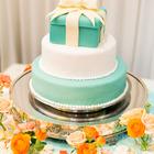 オリジナルケーキ ティファニーブルー